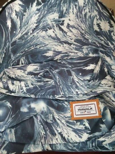 vanwalk 简约双肩包女韩版学院风中学生书包印花时尚小背包百搭潮 1134-167 晒单图