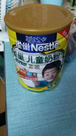雀巢(Nestle) 儿童奶粉1000g/克(3-6岁适用) 金装4段幼儿配方奶 8罐 晒单图