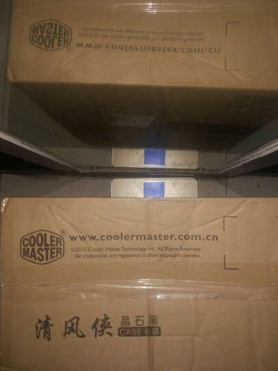 酷冷至尊(CoolerMaster)清风侠静音版 中塔式电脑主机机箱(ATX主板/USB3.0/背走线/电源下置/SD读卡器) 黑色 晒单图