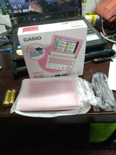 卡西欧(CASIO)E-SU60WE 文科小英童卡西欧学习机 贝壳白 晒单图