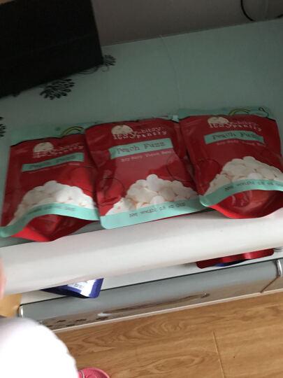 意贝桃子酸乳溶豆新西兰进口14g 6个月以上婴幼儿初期零食糖果泡芙水果果泥溶溶豆豆食品 晒单图