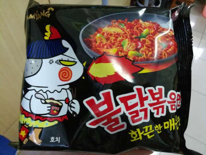 三养火鸡面超辣鸡肉味干拌面700g/袋(5包装) 韩国进口方便面泡面拉面速食零食 超辣味 晒单图