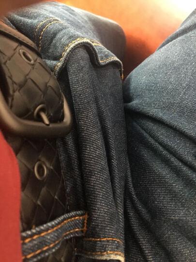 Bottega Veneta宝缇嘉 BV男式牛皮编织时尚休闲针扣腰带 皮带 173784 深棕色 95cm 晒单图