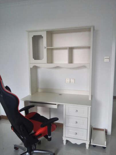 树之家 电脑桌台式书桌书柜组合 1.2米直角书桌 晒单图