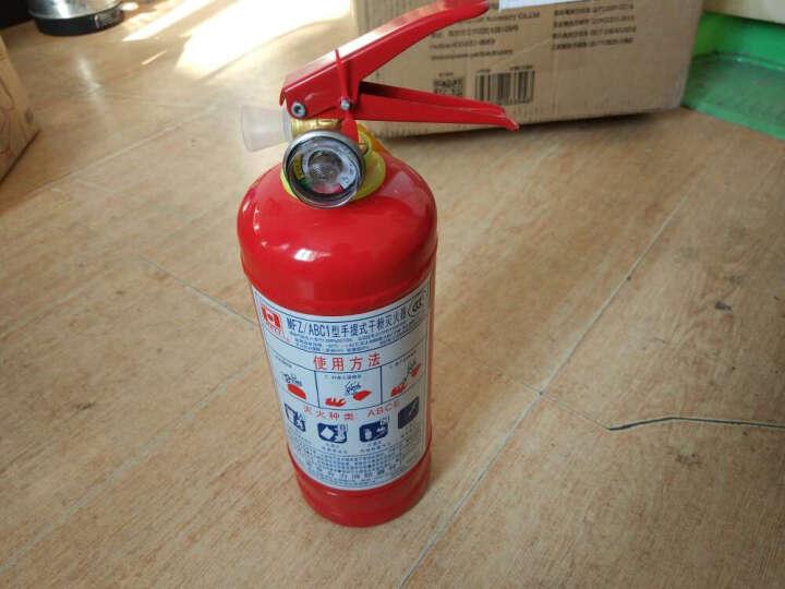 沿途 汽车应急救援工具箱 安全组合套装(灭火器1KG、急救包、安全锤、工具箱)G-530 晒单图