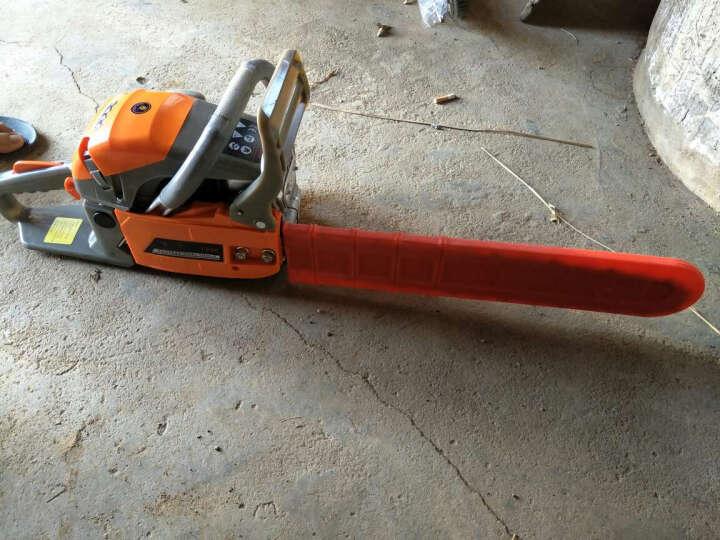 电锯伐木锯汽油锯 家用木工电链锯园林工具 导板套 晒单图