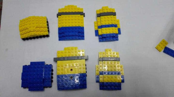 俐智loz新品小颗粒迷你集积木微钻小黄人公仔拼插组装益智玩具7-12 mini block (1206恶魔小黄人) 晒单图