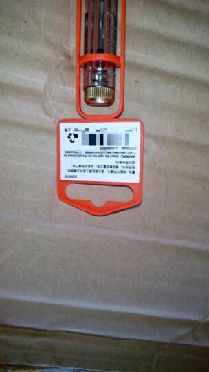钢盾(SHEFFIELD) 测电螺丝刀 测电笔多功能家用试电笔 验电笔电工工具 S034011  测电螺丝刀长180mm 晒单图