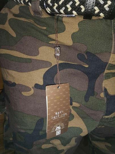 七匹狼 加长版 男士帆布皮带百搭青年弹力编织针扣松紧裤腰带 L70133020-55C彩色 晒单图