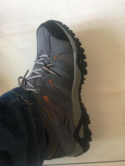 Columbia 【淘清仓】哥伦比亚男款经典户外轻盈缓震徒步鞋 YM3034 023 42 晒单图
