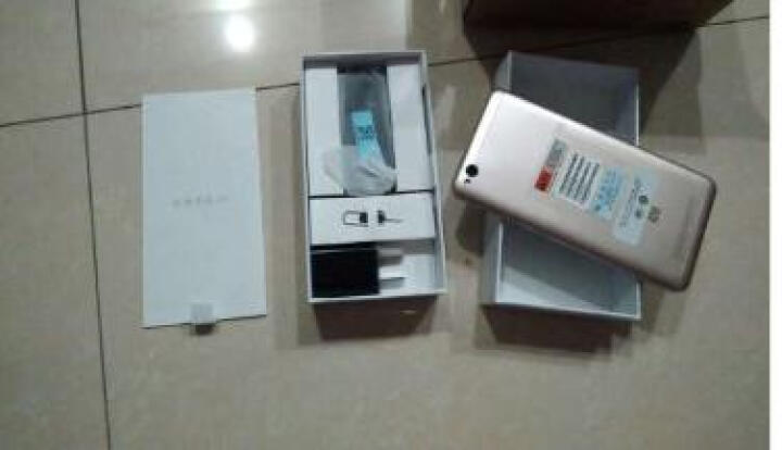 【联通赠费版】小米 红米 4A 2GB内存 16GB ROM 香槟金色 移动联通电信4G手机 双卡双待 晒单图