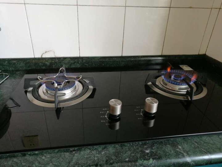 亿田(entive) DA28/DA29燃气灶 钢化玻璃双灶台嵌两用煤气灶具5KW大火力 黑色玻璃面板DA28 天然气 晒单图
