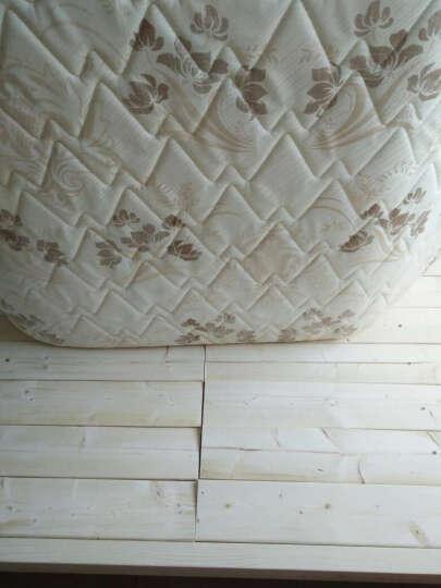 实木脚踏板垫脚凳脚踏原木办公家用板 浅紫色 168*88配套床垫 晒单图