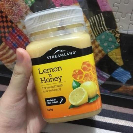新西兰进口Streamland柠檬蜂蜜500g蔓越莓蜂蜜女性呵护肠胃饮料冲调饮品全球购 *1组(柠檬蜂蜜+蔓越莓蜂蜜) 晒单图