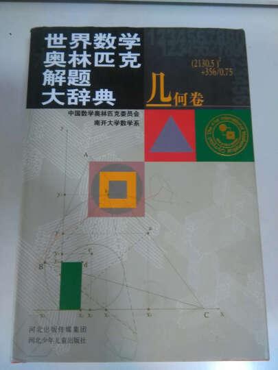 几何卷-世界数学奥林匹克解题大辞典 晒单图