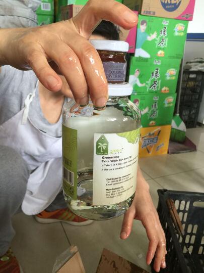 泰国原装进口green case冷压初榨有机纯鲜天然特级椰子油食用护发护肤卸妆690ml装 晒单图