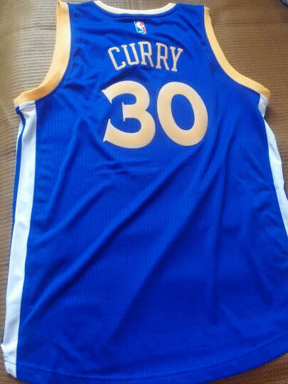 NBA 阿迪达斯 勇士 库里 篮球服 Swingman球衣 ADS0962A 勇士库里 L 晒单图