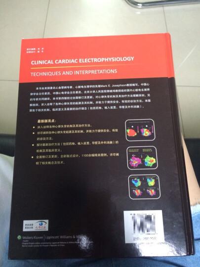 临床心脏电生理学:技术和理论 晒单图