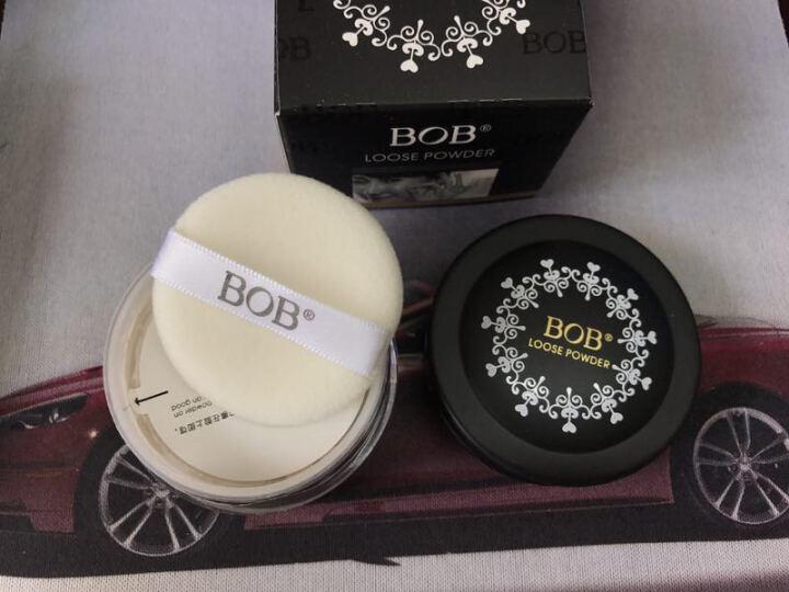 BOB 散粉带粉扑 保湿控油定妆裸妆 透晶亮采散粉 005自然色带闪 晒单图