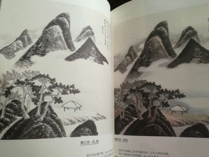 如何临摹历代名家山水画(套装全3卷 附光盘 ) 晒单图