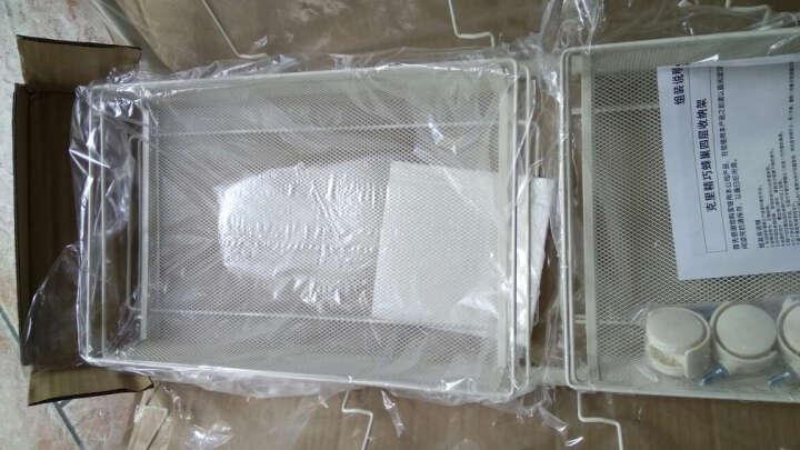 小美 (XMEE) 厨房置物架 零食饮料收纳架 带轮厨房收纳架 客厅卫生间浴室储物架 咖啡色四层 长44*宽26*高85cm 晒单图