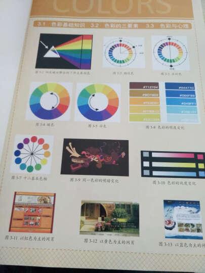 网页设计与网站建设完全实战手册(附光盘) 晒单图