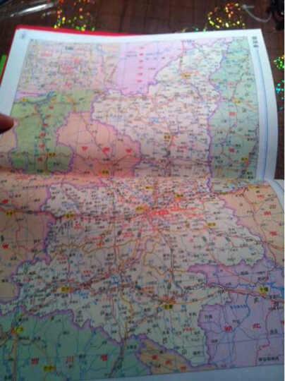 2015图行天下:中国交通旅游地图册 晒单图