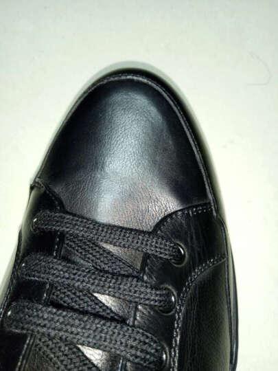S.T.Dupont/都彭 男士日常休闲系带牛皮男鞋 G20248006 啡色 39 晒单图