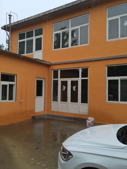 外墙漆 防水防晒乳胶漆墙面弹性阳台瓷砖漆彩色别墅涂料白色油漆 默认白色(需其他颜色留言备注或联系客服) 晒单图