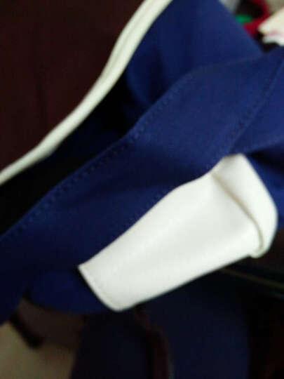帆特西 男士休闲单肩斜挎包 韩版帆布男包 学生书包 V81005 骑士咖啡色 晒单图
