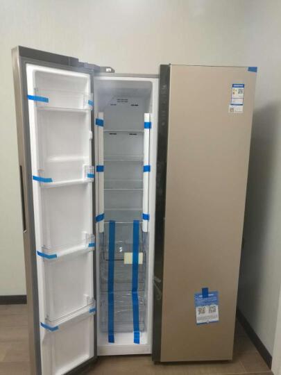 海尔(Haier) 冰箱656升大容量变频节能风冷无霜对开门冰箱 656WDPT 晒单图
