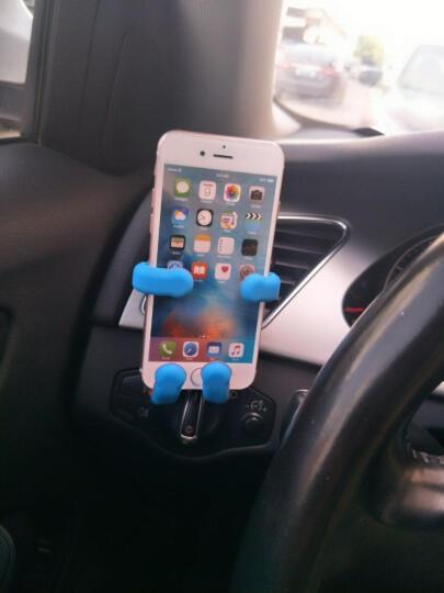 祥中宝(SingPod) 车载手机支架 通用出风口支架 汽车手机支架 车用导航懒人支架 美国队长 晒单图