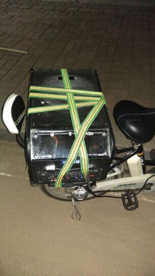 双诺 SN-09 8英寸低音蓝牙音箱 户外广场舞音响 便携式拉杆音箱 移动大功率扩音器  单麦克风 黑色 晒单图