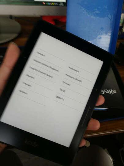 Kindle voyage 6英寸超高清电子墨水屏 4G 电子书阅读器旗舰版 黑色 【简约复古棕保护套套装】 晒单图