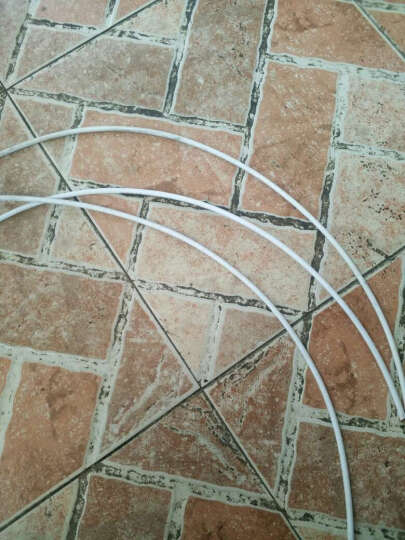靡西摩(mi.xim) 彩色套装自行山地车刹车线管/变速线管/送线管帽 白色线管一包 晒单图