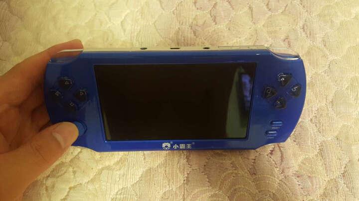 霸王小子psp掌上游戏机掌机 PSP俄罗斯方块儿童益智怀旧大屏街机电玩掌机 4.3英寸触屏白色8G内存 晒单图