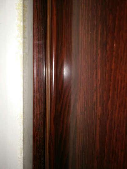 格奥德 防盗门密封条隔音条门框防撞门窗缝保温保暖防风胶条自粘型硅胶条 棕色6米工字型10x18 亚克力背胶 晒单图