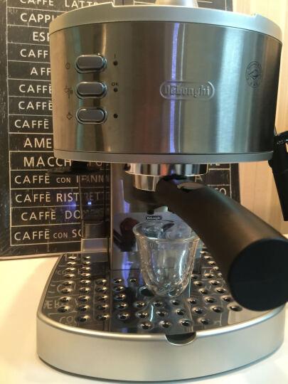 Delonghi德龙 EC330S 泵压式咖啡机 家用意式半自动 蒸汽打奶泡 不锈钢 卡布基诺 15Bar压力 不锈钢锅炉 温杯盘设计 晒单图