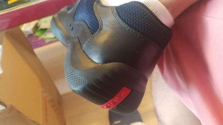 PRADA 普拉达 男士NEVADA BIKE系列黑牛皮/尼龙鞋靴 4E2043 O0V F0002 7.5/41.5码 晒单图