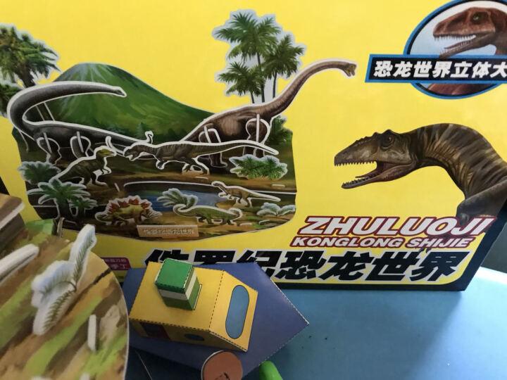 恐龙世界立体大拼插:侏罗纪恐龙世界 晒单图