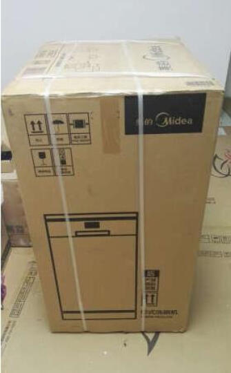 美的(Midea) 9套 不锈钢机身 易安装除菌独立式家用洗碗机 WQP8-7602-CN 晒单图