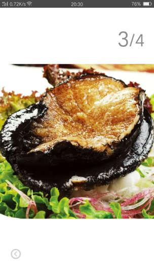 【活鲜】御鲜轩 进口鲜活澳洲大鲍鱼 海鲜贝类 1000g/1只 晒单图