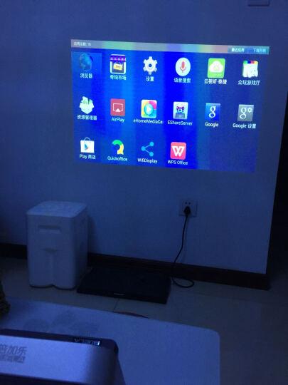 倍加乐(Bijela) 倍加乐 HX7625投影机3D蓝牙WIFI高清智能便携无线投影仪 金色 晒单图