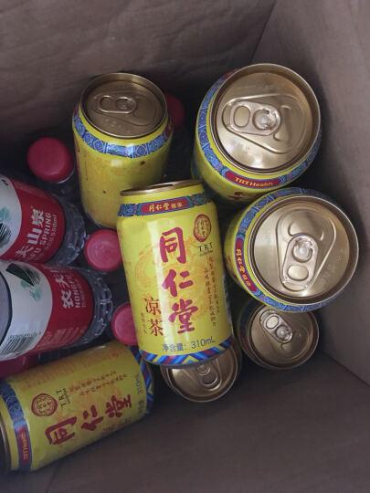 同仁堂凉茶低糖健康自然凉茶 310ml*12/箱 晒单图