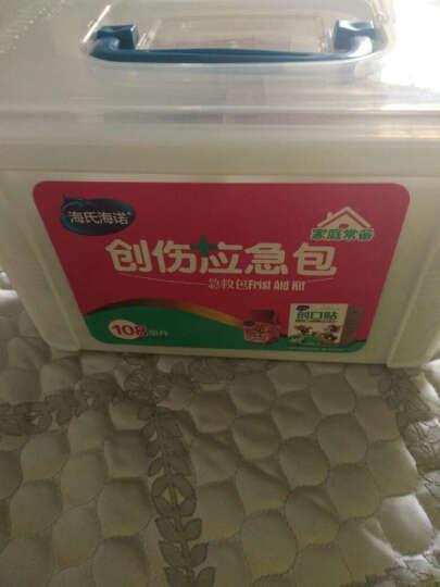 海氏海诺 急救包 急救箱 车载家用带药品套装便携医药包 108组 晒单图