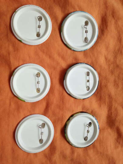 动漫徽章 动漫胸章公司专业销售圆形动漫徽章 动漫徽章镜子 黑子的篮球 58mm套装6个(随机) 晒单图