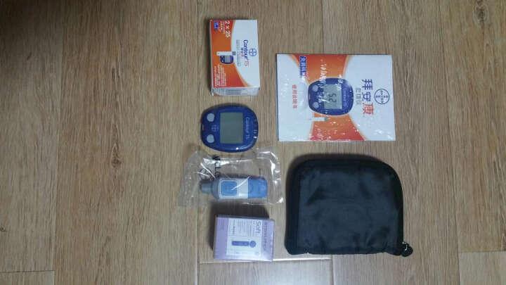 拜安康 拜耳血糖仪家用专用测血糖检测试纸采血笔 血糖仪+50片试纸(试纸18年6月) 晒单图