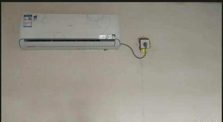海尔空调 单冷空调挂机 定速空调壁挂式 独立除湿智能舒适急速冷暖6年保修BEA系列 KF-23GW/1313BEA13 晒单图