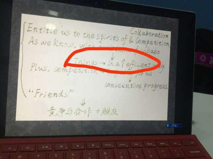Microsoft/微软 Surface   Pro 4专业键盘盖 红色 晒单图