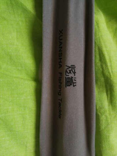 炫鲨 2.1米碳素黑棍裸碳鱼竿架杆炮台支架钓箱钓椅杆架竿挂配天线后挂 烫金绿/翡翠绿后挂 2.1m 晒单图